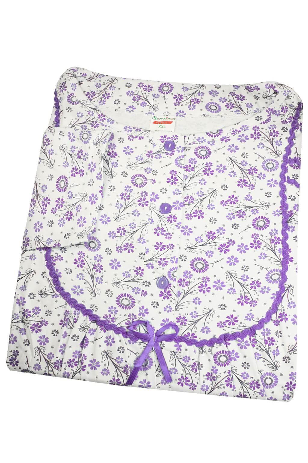 Odelia dámská noční košile XXL XXL fialová