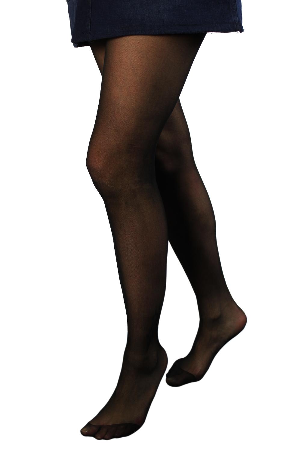 Klasické Panty Hose silonky 20 DEN XL černá