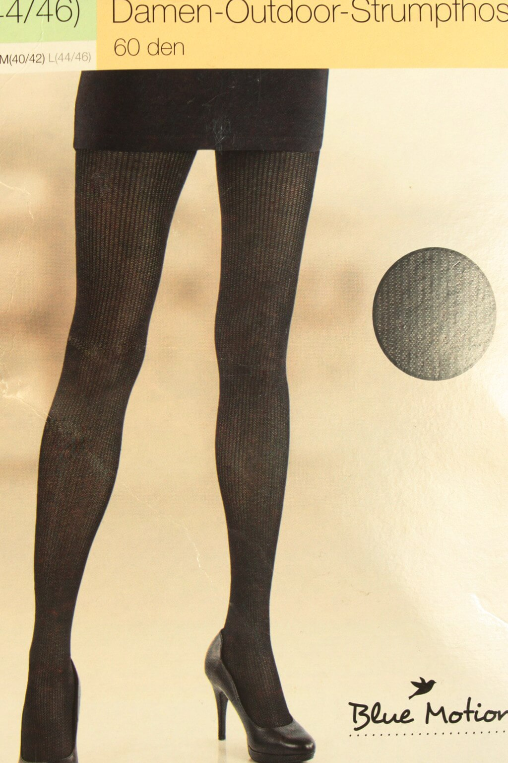 Dámské Outdoor punčochové kalhoty 60 DEN L černá