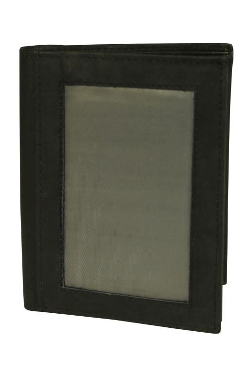 Philo pánská peněženka z pravé kůže černá