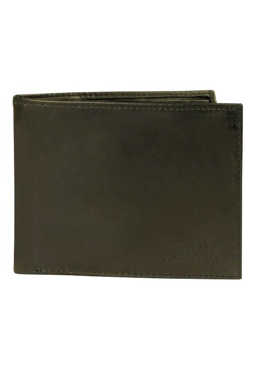 Casper pánská peněženka - pravá kůže černá