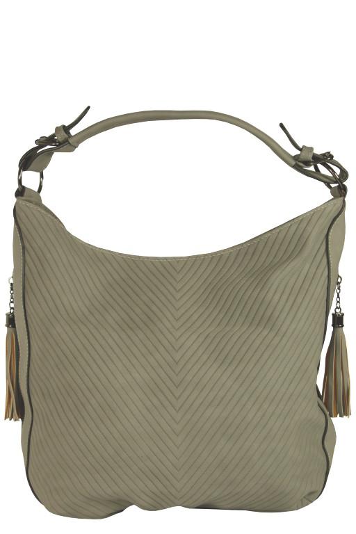 Damion módní dámská kabelka šedá