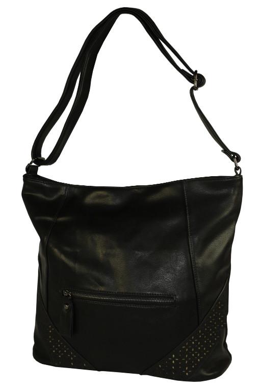 Tops Black módní crossbody kabelka černá 6fd45bf10f7