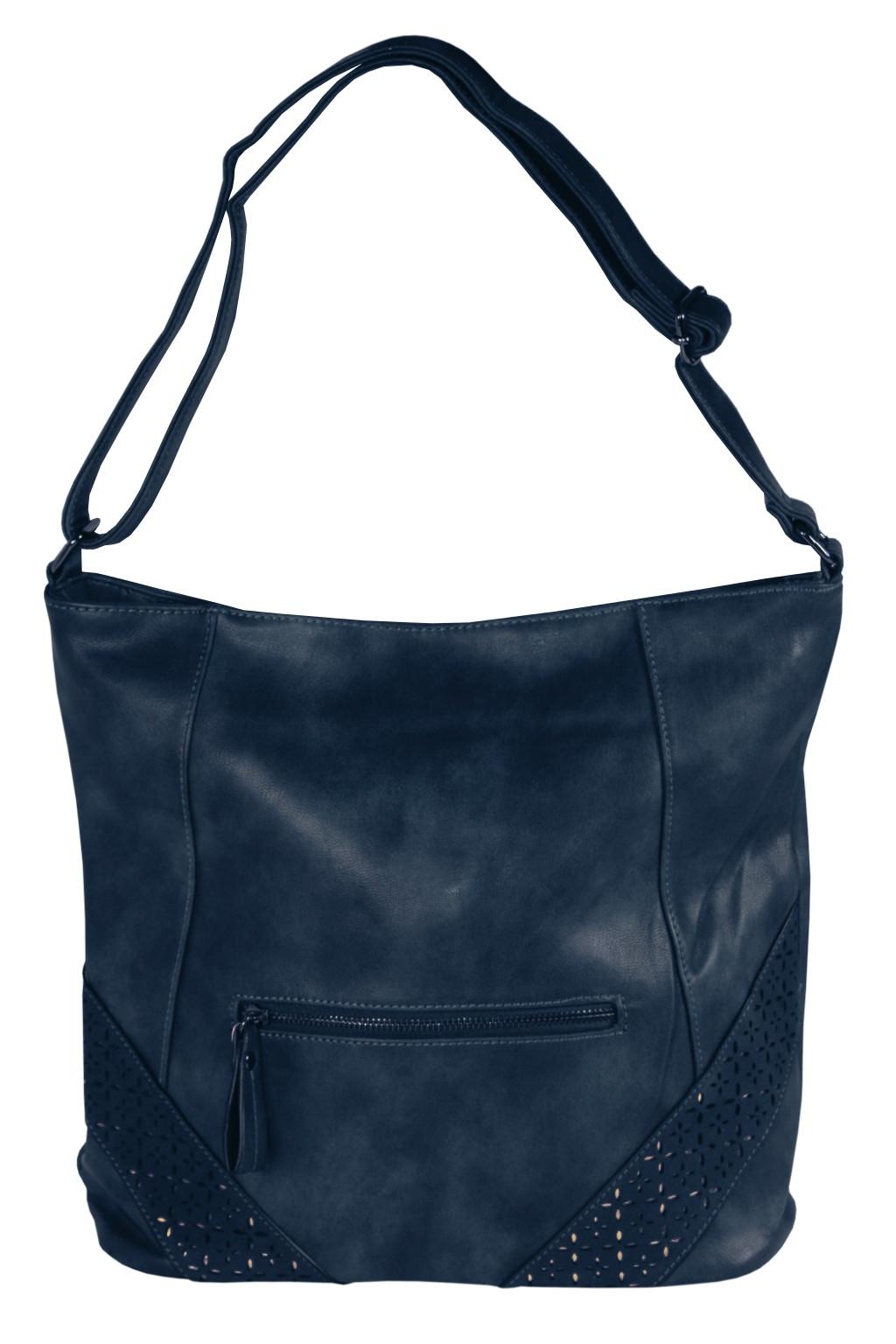 Tops Blue módní crossbody kabelka tmavě modrá