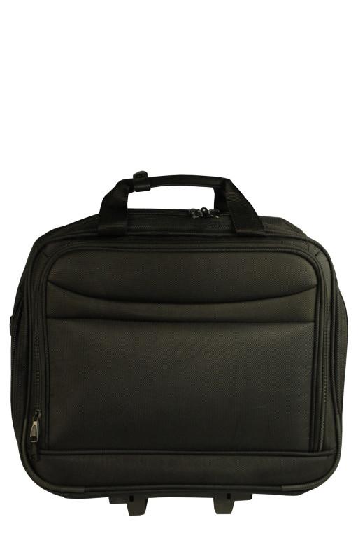 Scot textilní pilotní kufr černá