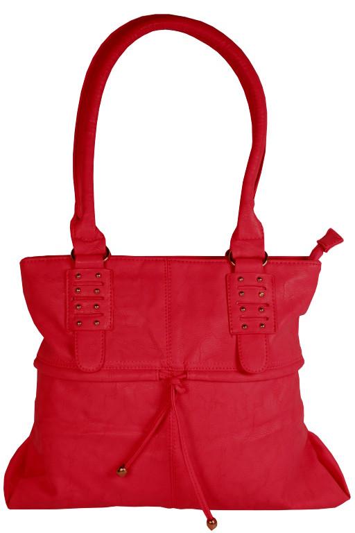 Bertha Red střední dámská kabelka červená