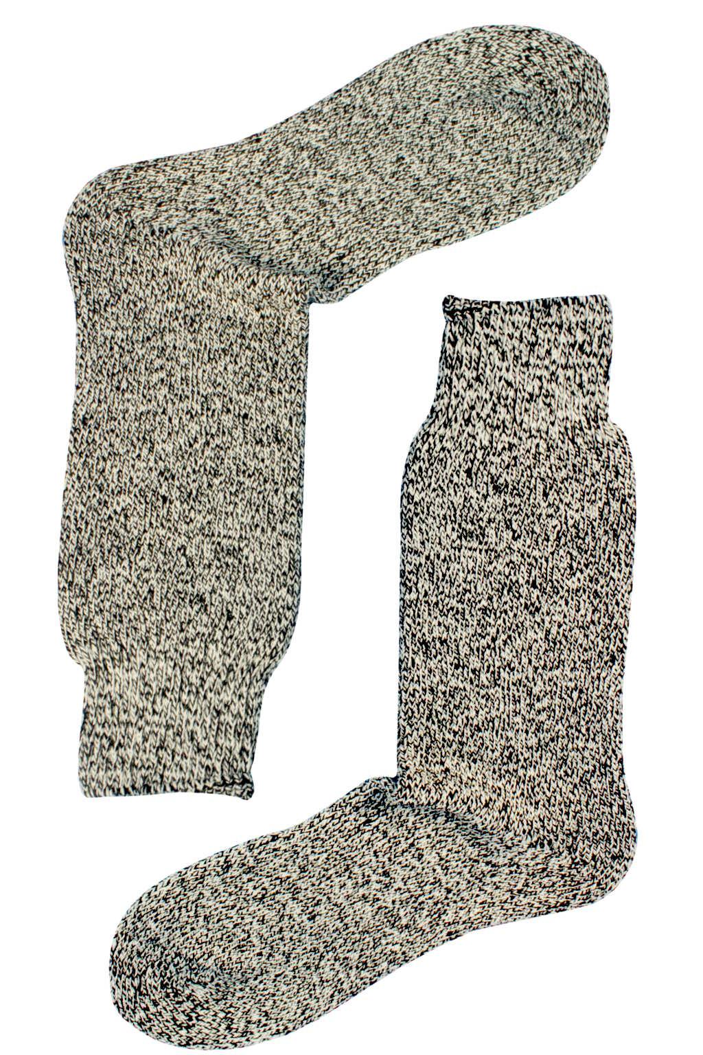 Naturwarm zimní ponožky pletené 43-46 černá
