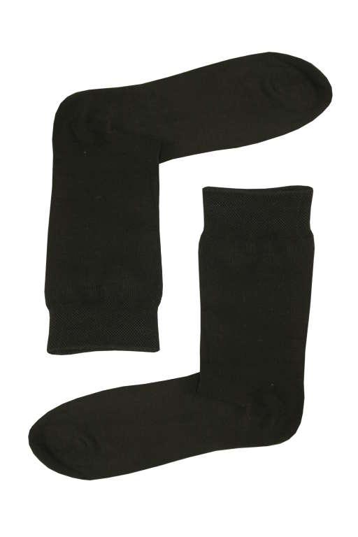 Business bavlněné ponožky 43-46 černá
