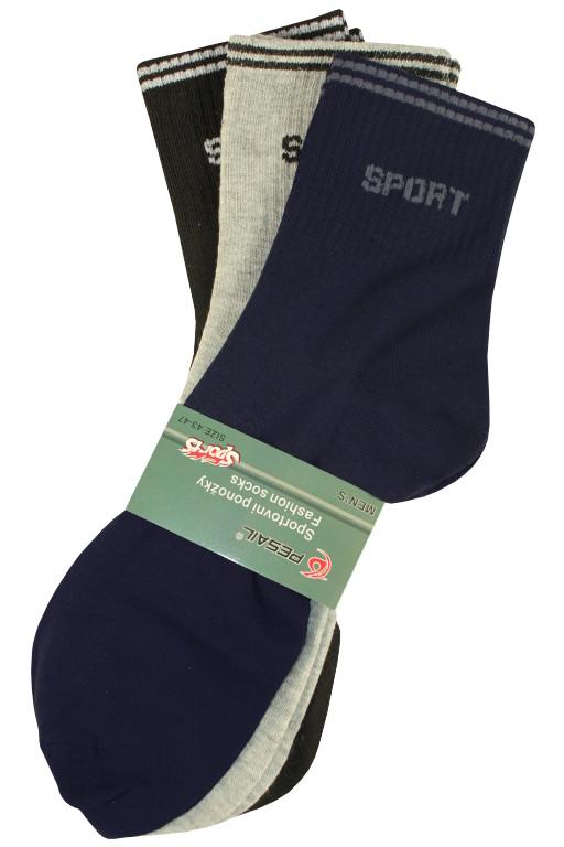 Sport pánské ponožky - 3páry MIX 40-44