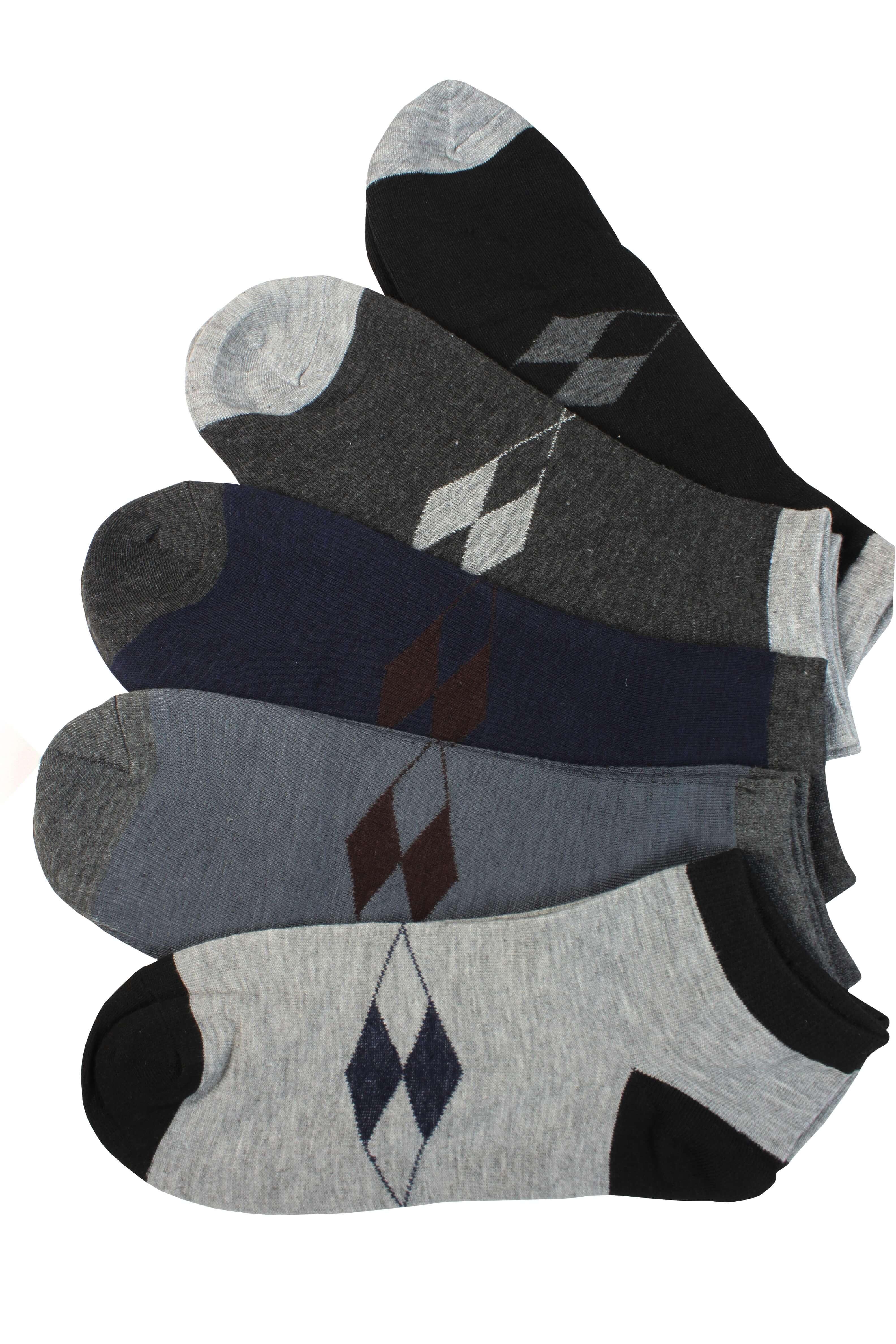 Pánské zdravotní kotníkové ponožky - 3páry 40-44 MIX c57e44a5af