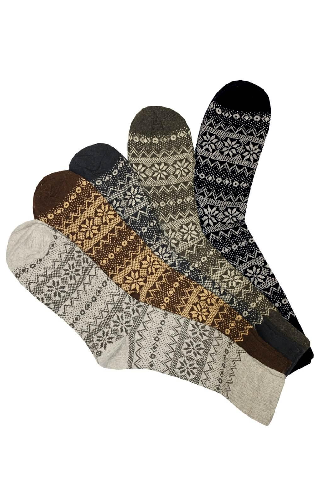 Pánské thermo vlněné ponožky - 2 páry 43-47 MIX f38617995b