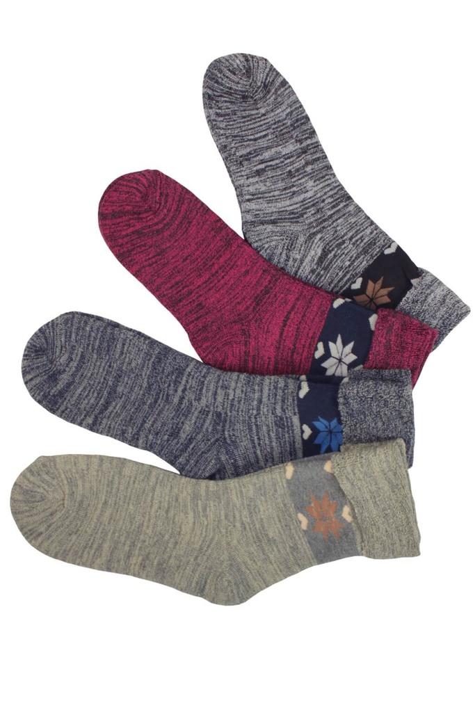 Dámské zimní ponožky - 2 páry MIX velikost  37-42. 2 ks v balení a57ee71d5d