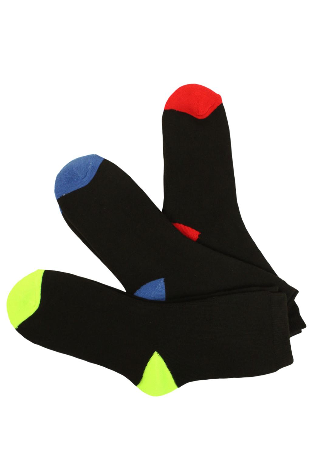 Teplé vyšší dámské ponožky - 2 pack 38-42 černá