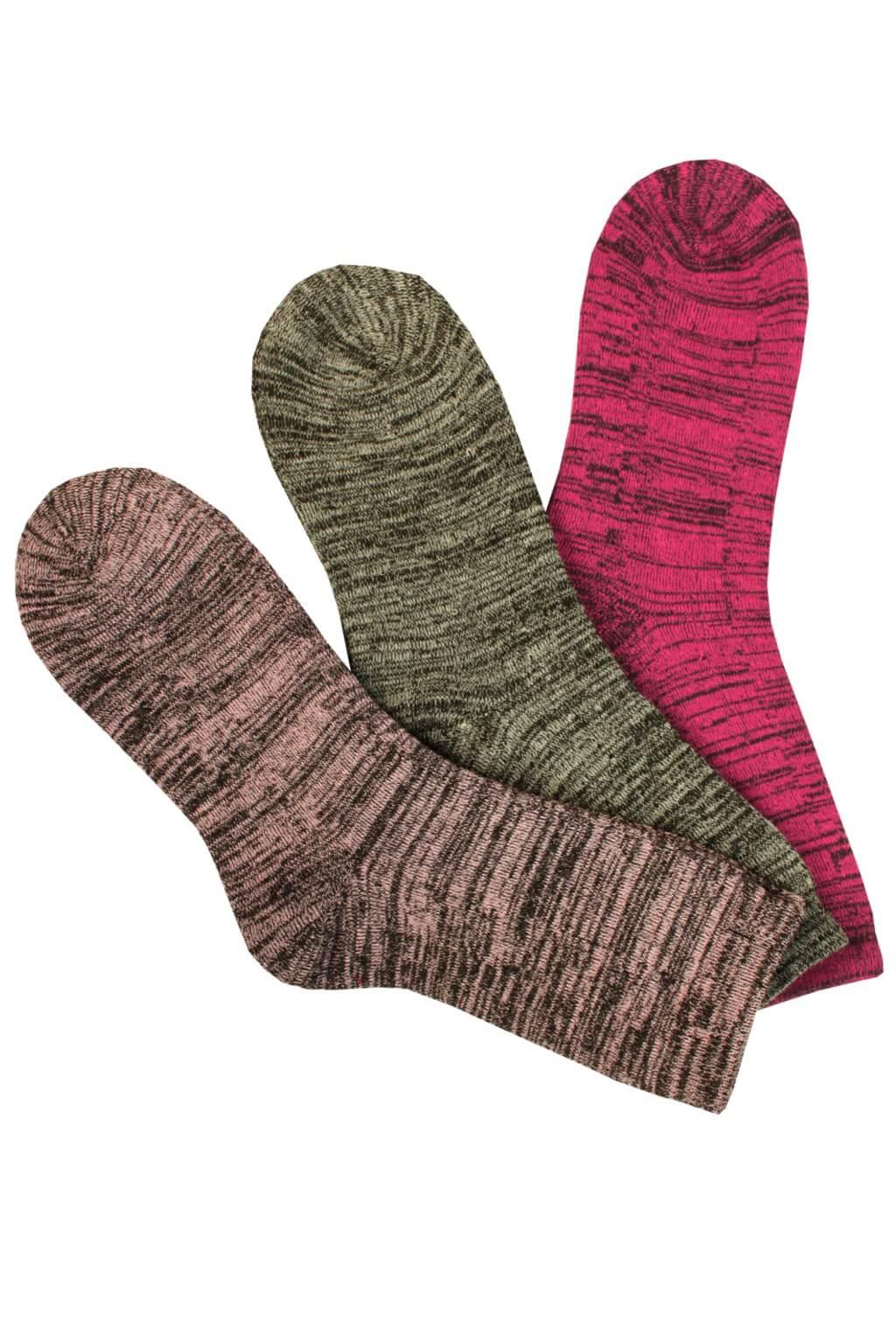 Dámské ponožky thermo WZT-002 - 3páry MIX 35-38 923a5f033d