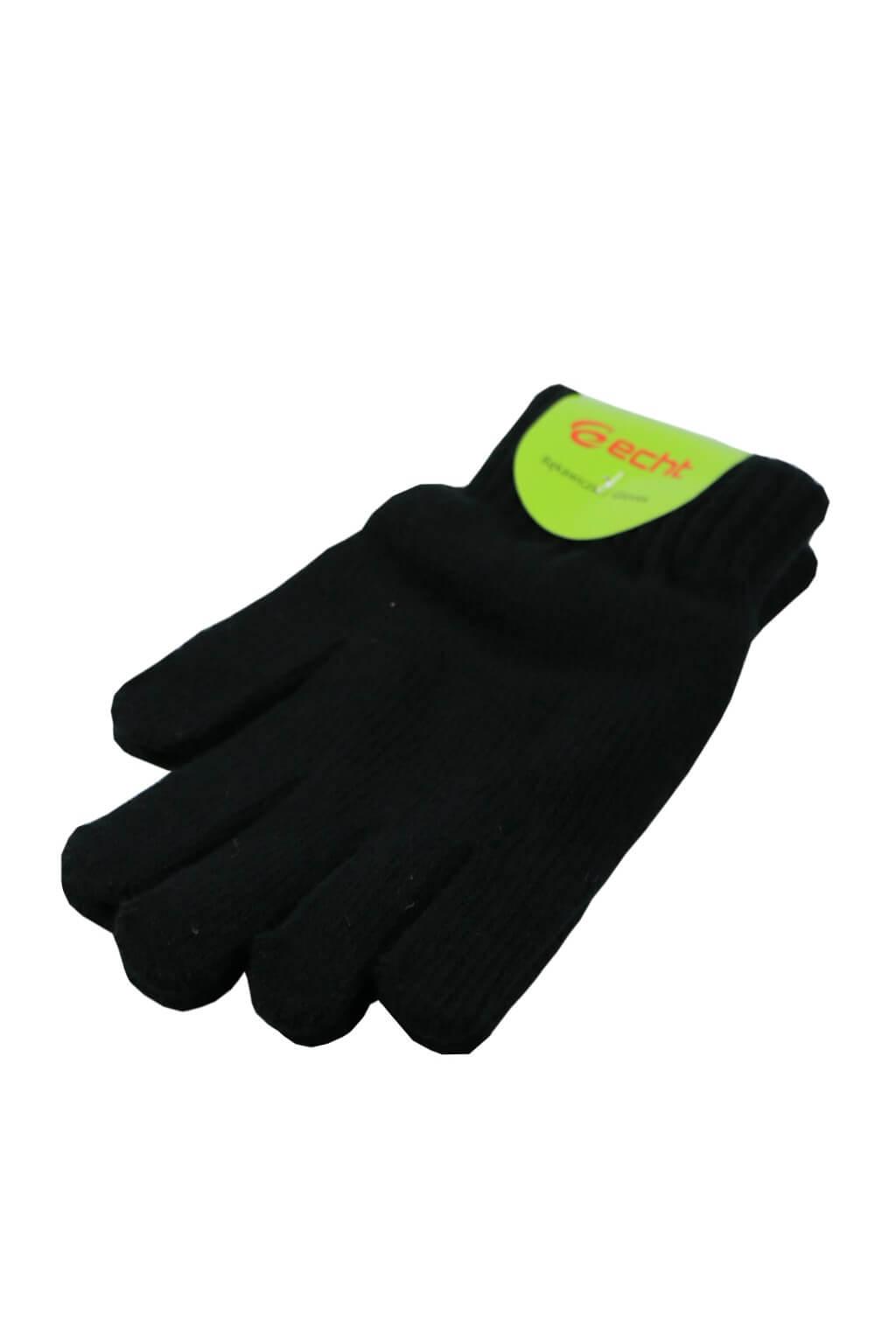 Myrtle Men pletené rukavice černá ee620ca3ec