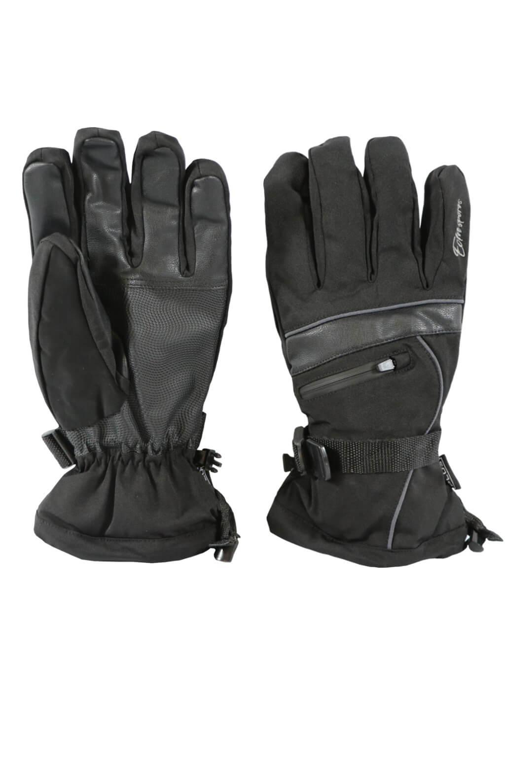 Gloves pánské lyžařské rukavice HX001 L černá 433440165c