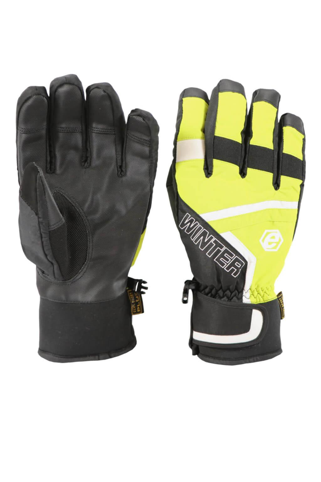 6334828b75f Mort pánské lyžařské rukavice HX031 XL světle zelená