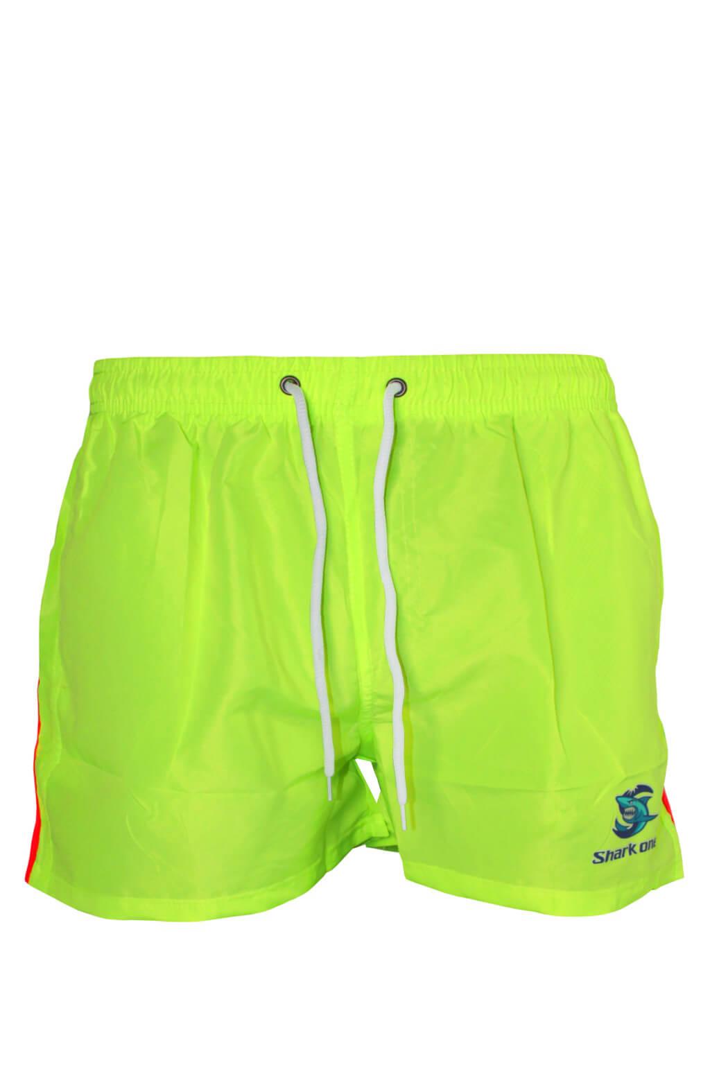 7702a8a290e Abram Neon pánské koupací šortky L zářivě žlutá