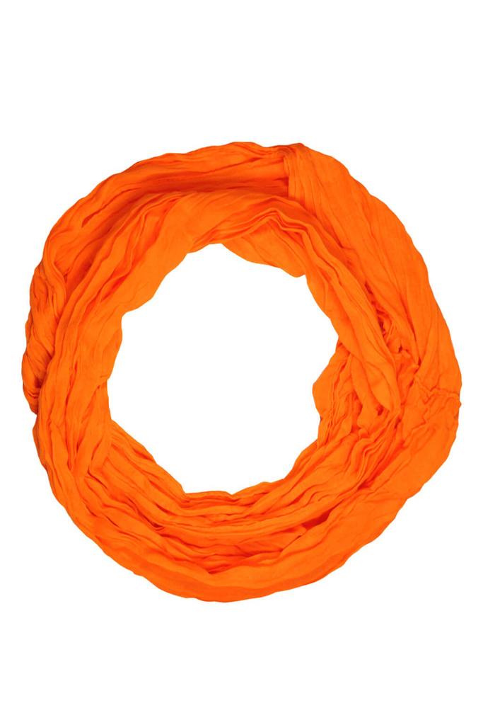 53a703ce4e9 Neon tunelová šála oranžová zářivá
