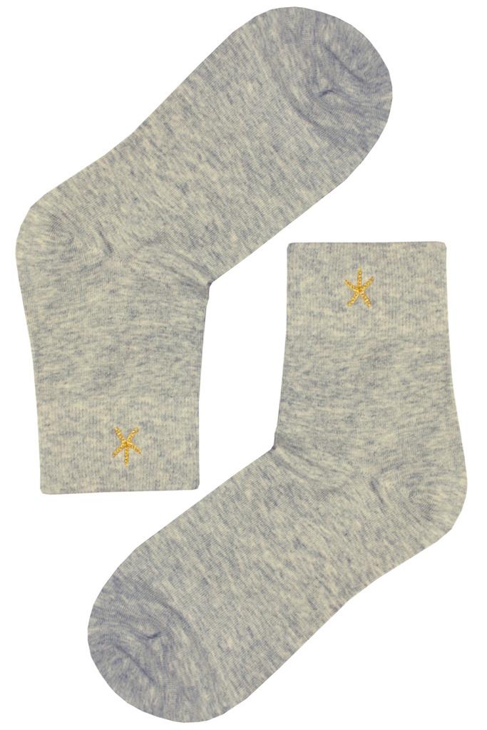 Dámské ponožky - hvězdice NPX26 levné prádlo  82b1046293