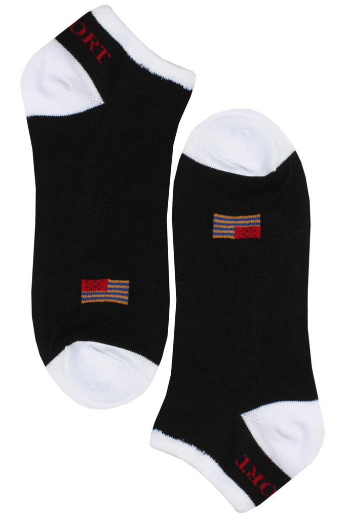 6be9e6259d0 USA Crazy kotníkové ponožky NM30115 - 3páry levné prádlo