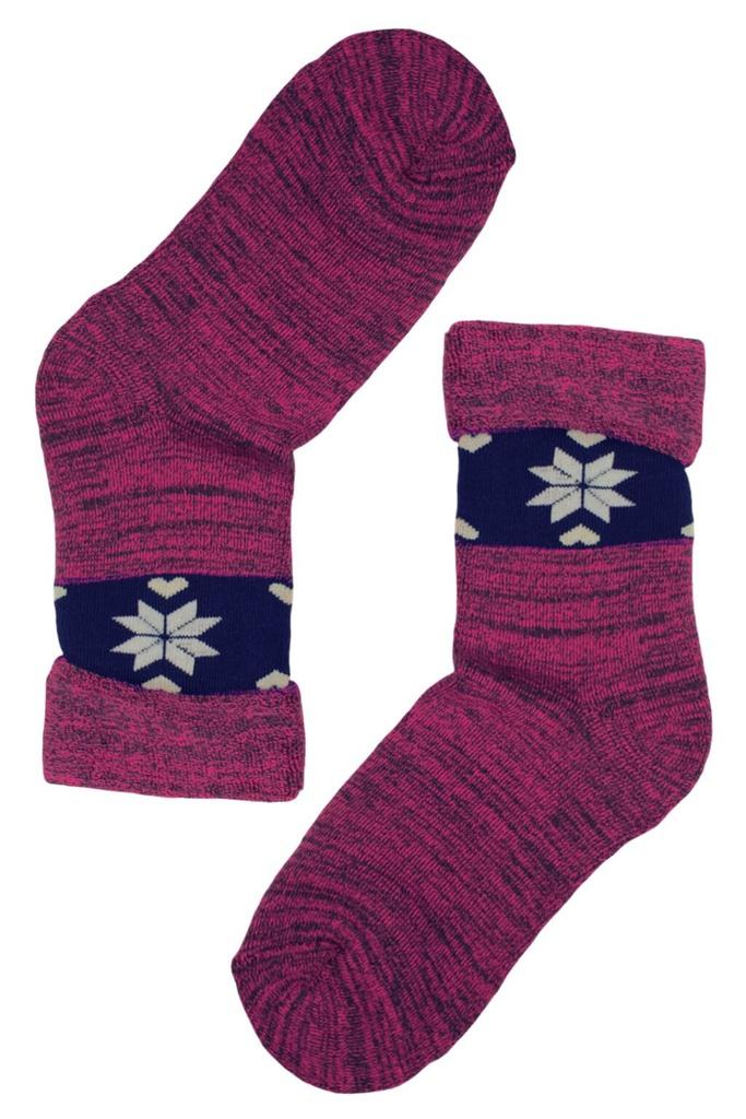 Dámské zimní ponožky - 2 páry levné prádlo  772afcad80