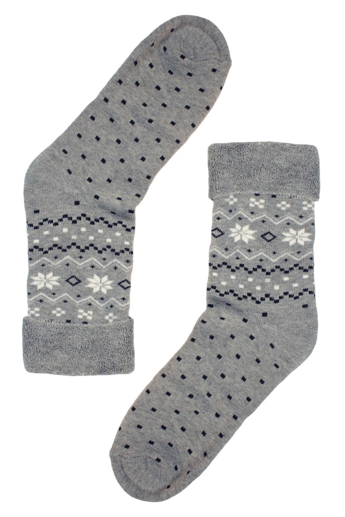 Teplé zdravotní dámské ponožky - 2 páry levné prádlo  094e32c34d