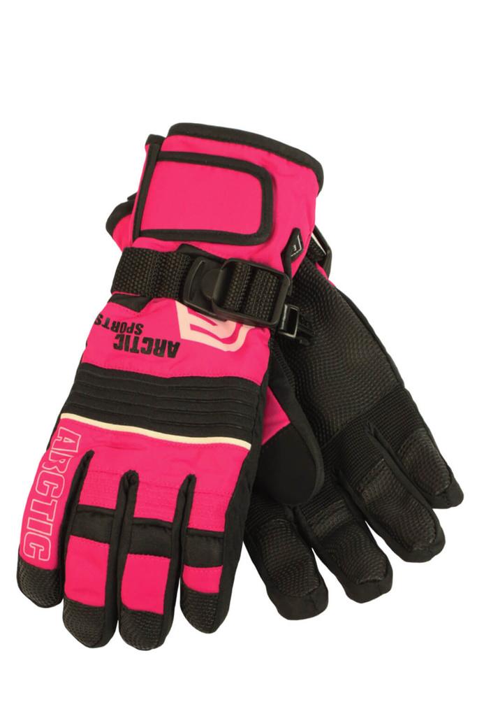 0e199fb146b Finn dětské zimní rukavice C075 světle červená velikost  8-9 let ...