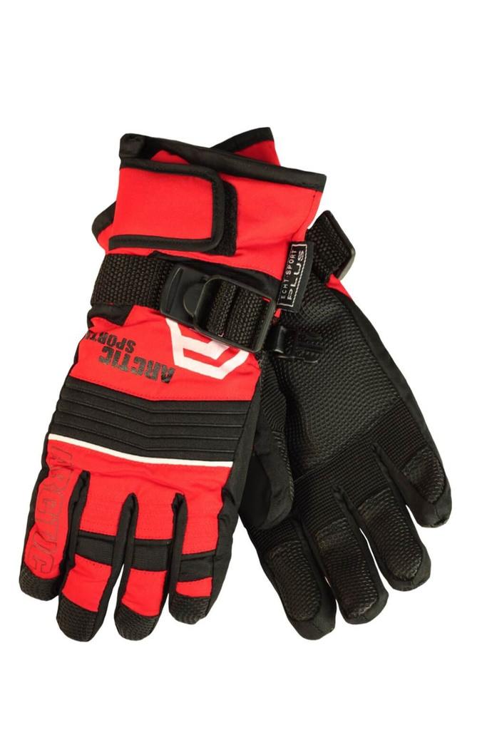 fd510b515e2 Finn dětské zimní rukavice C075 červená velikost  8-9 let