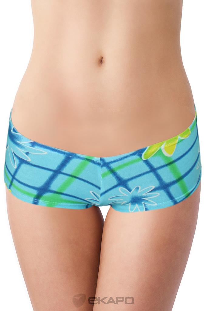 a25a56eb6dd Aqua B- plavkové kalhotky levné prádlo
