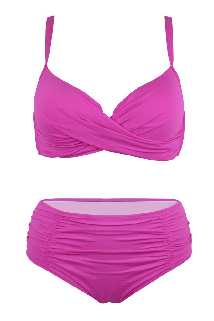 Sardynia Pink plavky pro plné tvary S936 růžová velikost  3XL ... 7dc24b779e